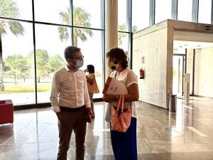 La alcaldesa de Bigastro reclama al conseller de Obras Públicas que las actuaciones en la CV-95 sean integrales e inmediatas