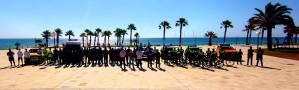 44 trabajadores controlarán la distancia social y las medidas de higiene en las playas de Orihuela