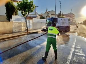 Pilar de la Horadada amplía el contrato de limpieza viaria con STV Gestión