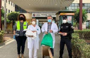 El Departamento de Salud de Orihuela manifiesta su agradecimiento por las donaciones recibidas durante la epidemia de Covid-19