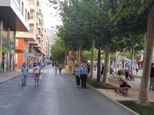 Orihuela atrasa una hora la peatonalización de las calles, que se iniciará a las 21 horas