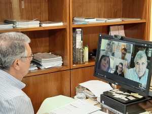 La CHS trata sobre las obras de la rambla de Abanilla con el Ayuntamiento de Redován