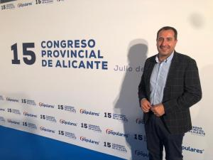 Antonio Bernabeu y Manuel Sirvent son los nuevos coordinadores comarcales del PP