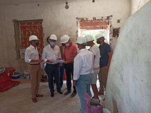 Comienzan las obras para transformar la Casa de los Verdú en el Centro de Interpretación del Palmeral
