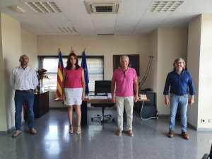 Se pone en marcha el retén de bomberos de Pilar de la Horadada durante el verano