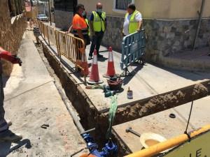 El Ayuntamiento de Orihuela e Hidraqua avanzan las actuaciones previstas en la red de agua potable y alcantarillado con una inversión de 514.000€ y la generación de 500 empleos
