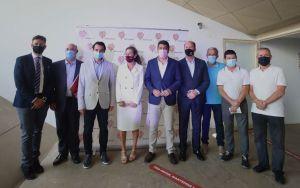 El presidente de la Diputación de Alicante resalta el éxito del modelo de gestión público-privado del Hospital de Torrevieja