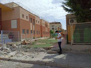 Comienzan las obras de construcción del nuevo comedor escolar de la Escuela Infantil La Paz