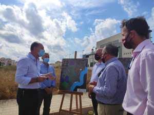 El Ayuntamiento pone a disposición de la Conselleria los terrenos para la construcción del nuevo centro de salud en Orihuela Costa