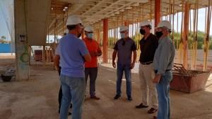 Avanzan las obras de construcción del Centro de Emergencias de Orihuela Costa