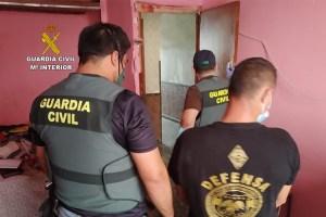 La Guardia Civil desmantela un grupo criminal dedicado a sustraer cobre que operaba en la Vega Baja