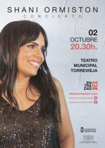 La torrevejense Shani lanza nuevo álbum y dará un concierto en el Teatro Municipal