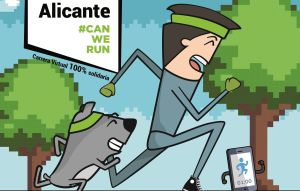 La Diputación colabora con la carrera solidaria con mascotas 'Can We Run'