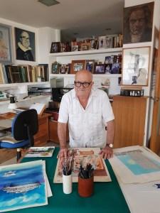 Alfonso Ortuño vuelve a Orihuela con una nueva exposición: 'Por Humor al Arte'