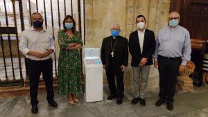 La Catedral de Orihuela ya cuenta con un 'cepillo digital'