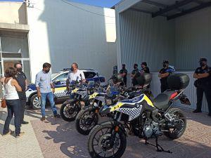 La Policía Local de Orihuela incorpora cuatro motocicletas de 800 cc a su parque móvil