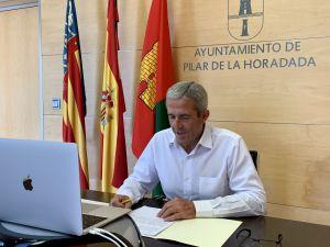 El alcalde de Pilar de la Horadada reclama en Las Cortes Valencianas la construcción de una segunda rambla