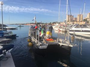 El Instituto de Ecología Litoral estudia la Posidonia de la costa oriolana