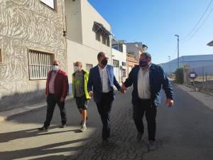 Comienzan las obras de reurbanización en la pedanía de El Mudamiento