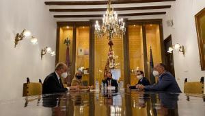 Bravo anuncia la ampliación del Palacio de Justicia de Orihuela tras comprar el edificio por 4,6 millones de euros