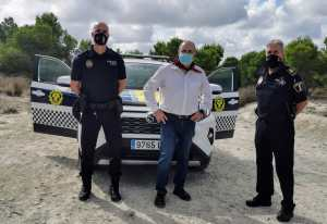 Benejúzar estrena coche de la policía