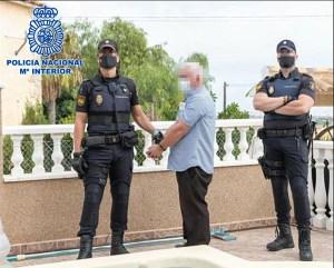 Detenido en la Vega Baja un criminal irlandés que lideraba un red de envío de marihuana a Reino Unido e Irlanda