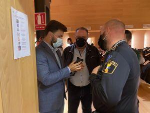 Jornadas sobre utilización de dispositivos de seguridad para policías