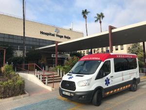Dos heridos en un accidente de tráfico en la A-7 a la altura de Orihuela