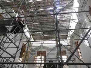La iglesia parroquial Santas Justa y Rufina de Orihuela rehabilitará su Sacristía y Capilla de la Comunión