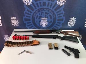 Detienen en Benejúzar a un clan gitano por cinco delitos de extorsión mediante amenazas con armas de fuego