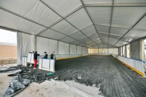 Torrevieja instala una pista de hielo natural durante las navidades