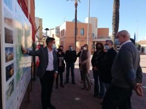 La Generalitat invierte 400.000 euros para reforzar la seguridad vial de la CV-945 con la reordenación de los accesos al polígono industrial de Los Montesinos