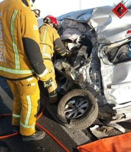 Un accidente de tráfico en la A-7 en Granja de Rocamora se cobra la vida de una mujer de 65 años