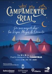 Los Reyes Magos tendrán su campamento en el puerto de Torrevieja del 2 al 5 de enero