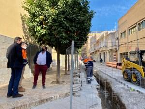 Infraestructuras renueva el sistema de alcantarillado del entorno del Teatro Circo de Orihuela