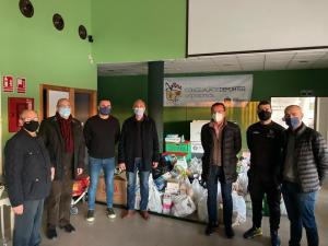 La Campaña de Navidad de Orihuela recoge más de 2000 kilos de alimentos para Cáritas