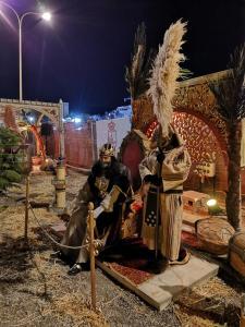 El campamento de los Reyes Magos en el Puerto de Torrevieja ya ha recibido más de 5.000 visitantes