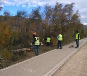 Mejoran la margen izquierda del río Segura, desde los tubos del trasvase hasta la zona del centro comercial Ociopía
