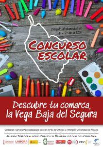 CONVEGA promueve un concurso escolar que ayuda a descubrir la Vega Baja del Segura