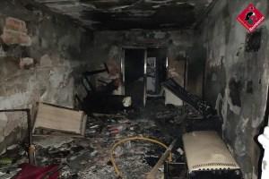 Herida con graves quemaduras una persona en San Fulgencio por explosión en una vivienda