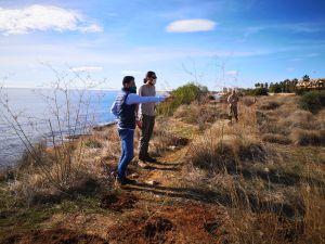 Medio Ambiente actúa para evitar el tránsito de personas por el interior de la Microrreserva de Punta La Glea