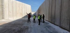 Avanzan las obras de la planta de transferencia de residuos urbanos en Dolores