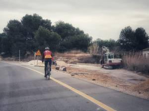 Un carril bici mejorará la seguridad vial y unirá el casco urbano de San Fulgencio con sus urbanizaciones