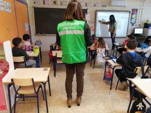Un estudio del Ayuntamiento de Orihuela revela que el 85% de las aulas cumplen con los parámetros recomendados de CO2 en las aulas