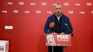 """El PSOE critica el """"desorden"""" de Recursos Humanos con la oferta de empleo del Ayuntamiento de Orihuela"""