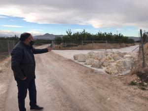 Fiscalía abre diligencias previas contra una empresa agrícola acusada de modificar el curso de las aguas pluviales hacia Benferri
