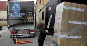 Detenido en Callosa por robar un camión con una carga de chocolate valorada en 250.000 euros
