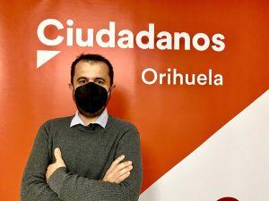 Raúl Pardines es elegido coordinador de Ciudadanos en Orihuela
