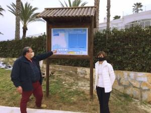 Orihuela presenta la candidatura para Senderos Azules con el Sedero Azul 'Paseo Cabo Roig'
