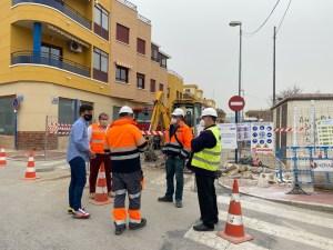 Comienzan las obras para acabar con las inundaciones en el casco urbano de Los Desamparados